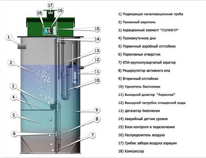 Технологическая схема ЕВРОБИОН